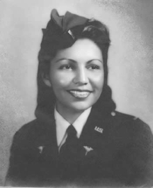 Marcella young military portrait